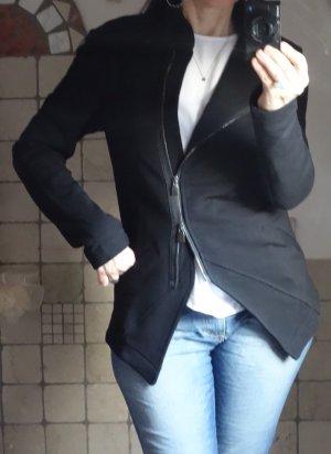 Aust Chaqueta estilo camisa negro Algodón