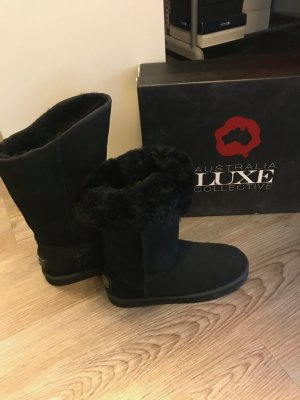 Australia Luxe Collective Women's Classic Cosy Long Sheepskin Boot Lammfell