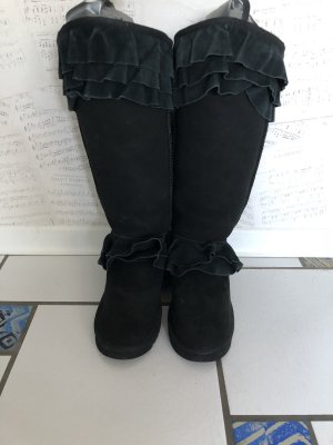 Australia Luxe Collective Snow Boots black leather