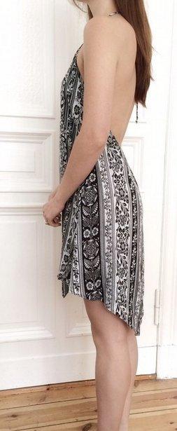 *AUSVERKAUF* SCHNÄPPCHEN-ALARM * 149€ Romeo & Juliet Couture Kleid schwarz weiß XS S 34 36