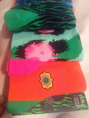 AUSVERKAUFTE farbenfrohe Socken von KENZO for H&M, Hingucker, gute Laune, Gr. 39-41