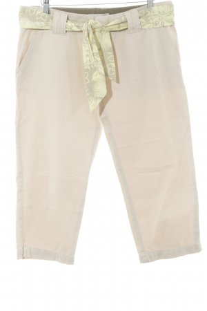 Authentic 3/4 Length Trousers nude casual look
