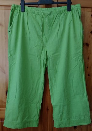 Authentic 3/4 Length Trousers lime-green cotton