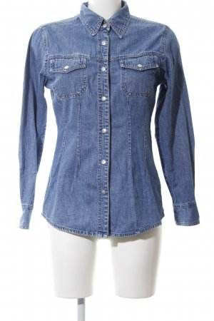 Authentic Denim Shirt blue casual look