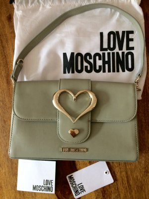 Authentic Love Moschino Tasche Olive grün