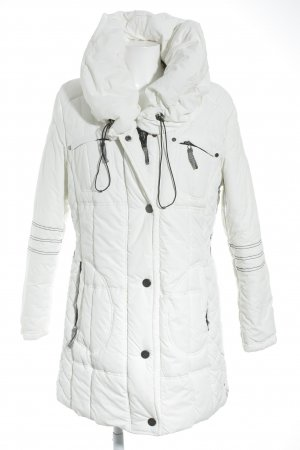 Authentic Winter Jacket white-black casual look