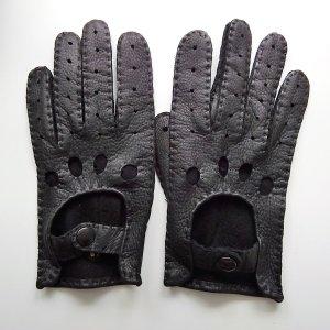 Autofahrerhandschuhe in Schwarz