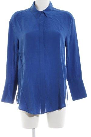 Autograph Silk Blouse blue casual look