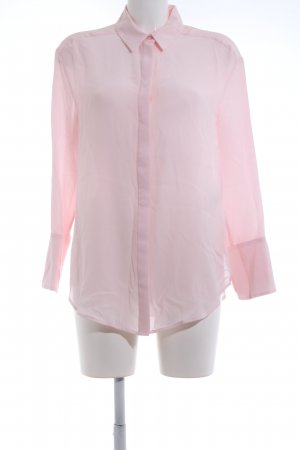 Autograph Silk Blouse pink business style