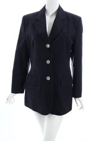 Avance Creation Long-Blazer dunkelblau Business-Look