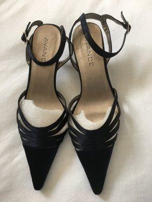 Avance Creation High-Heeled Sandals dark blue