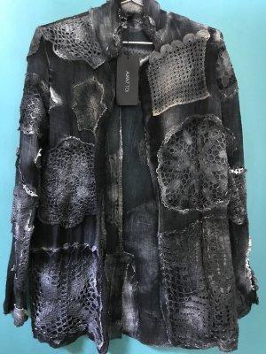 Long Jacket multicolored linen