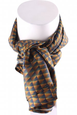 AVAVAV Firenze Zijden doek zigzag patroon elegant