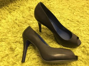 5th Avenue Peep Toe Pumps zwart
