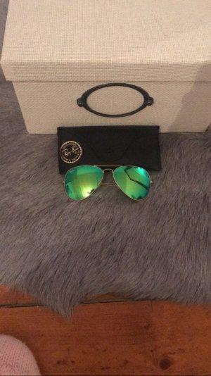 Ray Ban Aviator Glasses turquoise