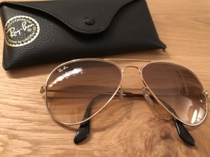 Ray Ban Glasses light brown-camel acetate