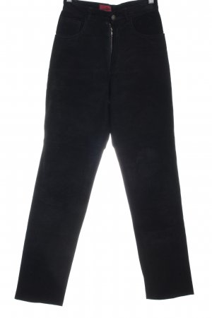 Avitano Leather Trousers black casual look