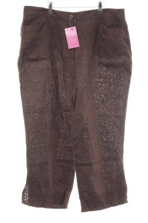 Avitano Pantalon en jersey brun style urbain
