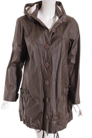 Avoca Manteau de pluie brun style décontracté