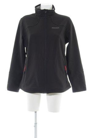 Avoca Veste en tricot noir style décontracté