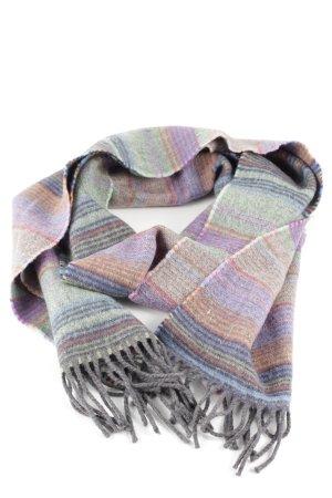 Avoca Wollen sjaal gestreept patroon casual uitstraling
