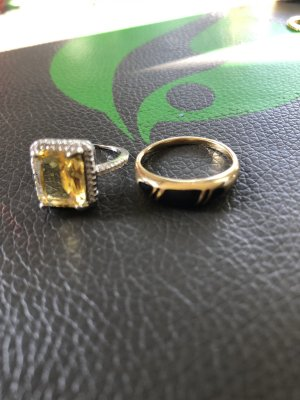 Avon Statement Ring gold-colored