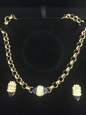 Avon Chain goud-blauw