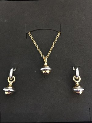 Avon Cadena color plata-color oro