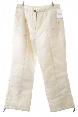 AW Pantalon de ski crème style simple