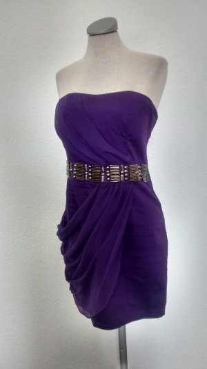 AX Paris Bandeau Dress lilac