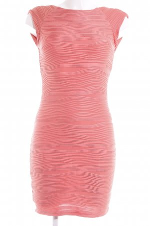 AX Paris Pencil Dress apricot striped pattern party style