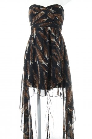 AX Paris Bustier Dress black-brown party style