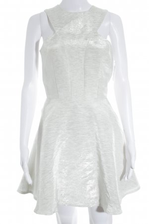 AX Paris Cocktail Dress white-silver-colored glittery