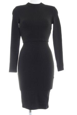 AX Paris Robe à manches longues noir élégant