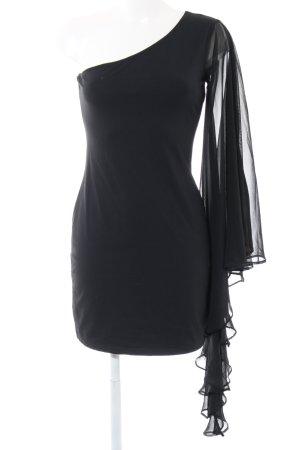 AX Paris One-Shoulder-Kleid schwarz Elegant