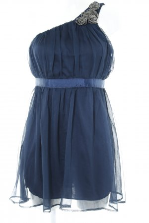 AX Paris One-Shoulder-Kleid dunkelblau Elegant