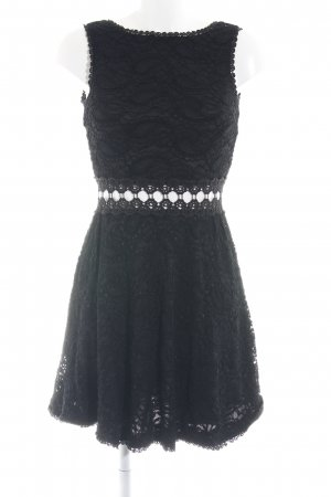 AX Paris Lace Dress black abstract pattern elegant