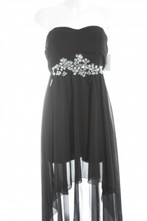 AX Paris High Low Dress black-silver-colored elegant