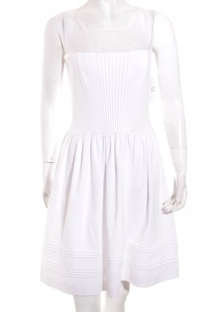 Axara A Line Dress white casual look