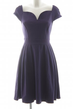 Axara Cocktail Dress dark violet business style