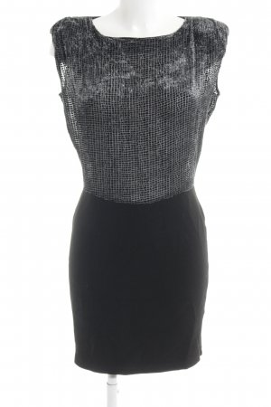 Axara Abito aderente grigio-nero elegante