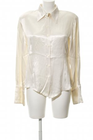 Axara Splendor Blouse cream wet-look