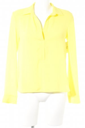 Axara Camicetta a maniche lunghe giallo elegante