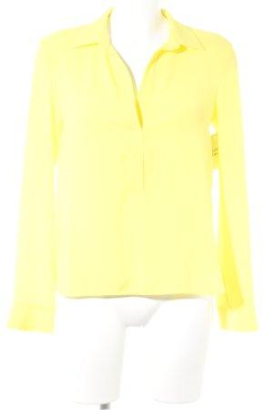 Axara Blusa de manga larga amarillo elegante