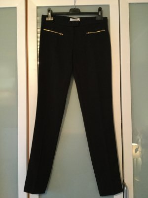 Axara Jersey Pants black-gold-colored