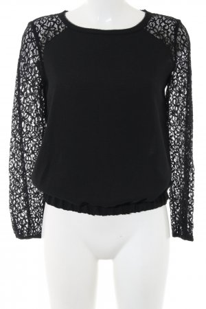 Axara Lace Blouse black casual look