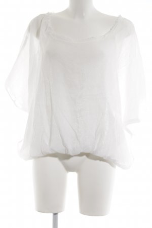 Axara T-shirt bianco elegante
