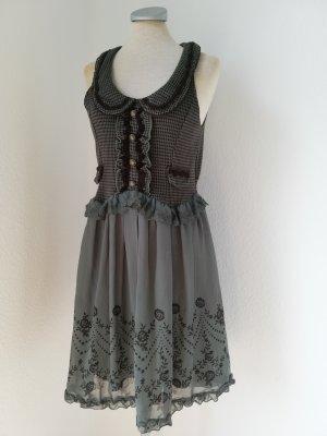 Peplum Dress multicolored