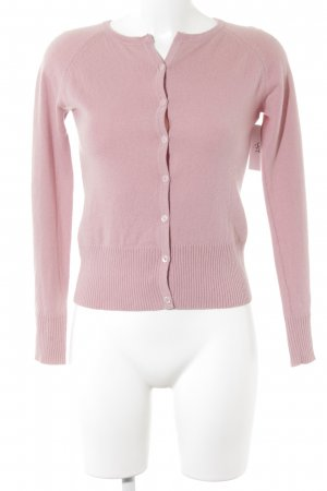 Aygill's Knitted Cardigan pink casual look