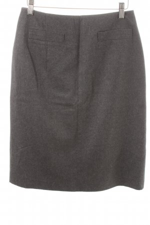 Aygill's Wool Skirt dark grey classic style mixture fibre